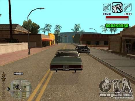HUD by Alex for GTA San Andreas second screenshot