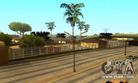Fence around the Groove Sreet for GTA San Andreas