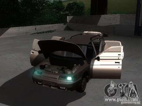 VAZ 21114 for GTA San Andreas inner view