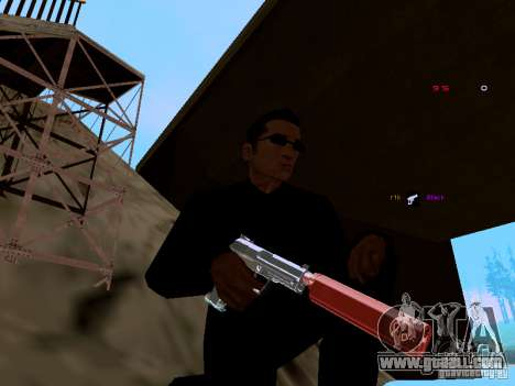 Ice Weapon Pack for GTA San Andreas second screenshot