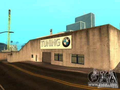 BMW dealership in San Fierro for GTA San Andreas third screenshot