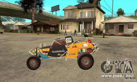 Dirt 3 Stadium Buggy for GTA San Andreas left view