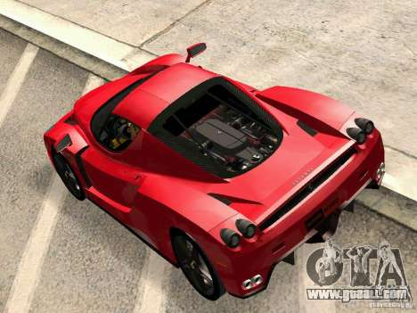 Ferrari Enzo Novitec V1 for GTA San Andreas right view