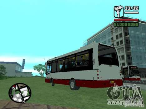 Ikarus E91 for GTA San Andreas right view