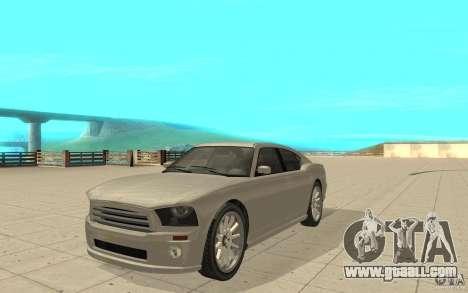 FIB Buffalo in GTA 4 for GTA San Andreas