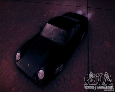 Porsche 959 1987 for GTA San Andreas bottom view