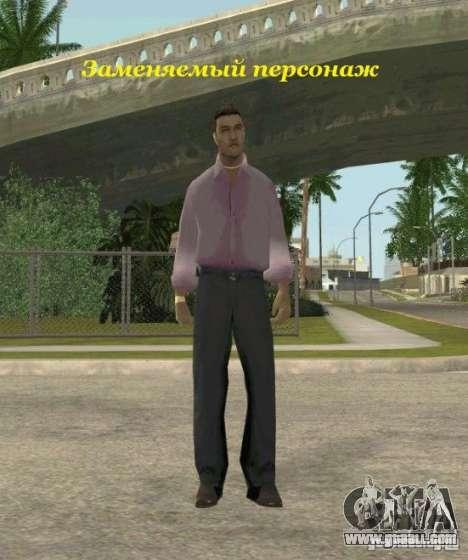 Assassins skins for GTA San Andreas ninth screenshot