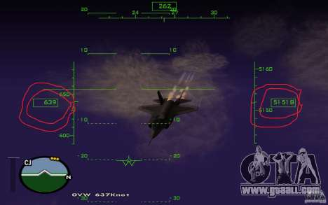 Flight in the mesosphere for GTA San Andreas second screenshot