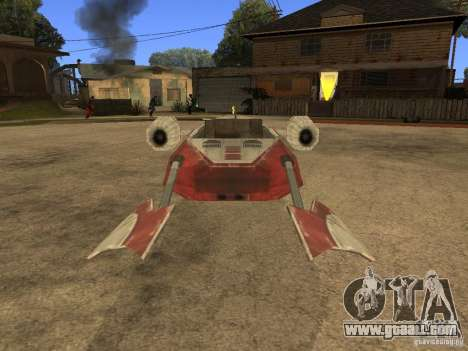 Baggage from Star Wars for GTA San Andreas back view