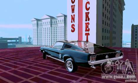 Ford Mustang 1967 for GTA San Andreas left view