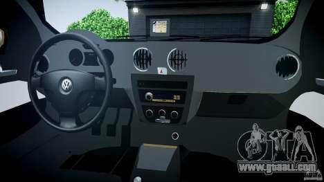 Volkswagen Gol 1.6 Power 2009 for GTA 4 side view