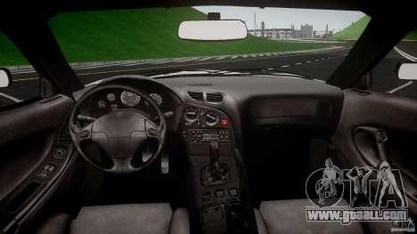 Mazda RX7 FD Apex Imamura for GTA 4 right view