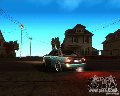 LADA 2170 Lambo for GTA San Andreas left view