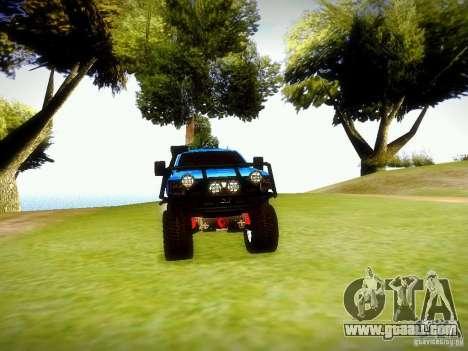 Chevrolet Silverado OFFRoad for GTA San Andreas right view