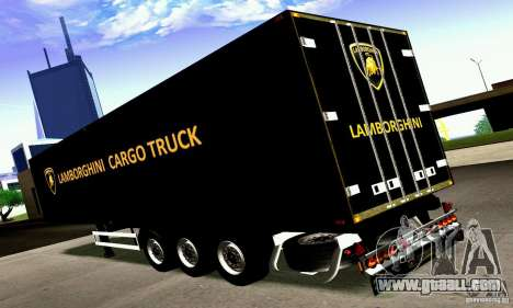 Lamborghini Cargo Truck for GTA San Andreas