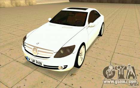 Mercedes Benz CL 500 for GTA San Andreas