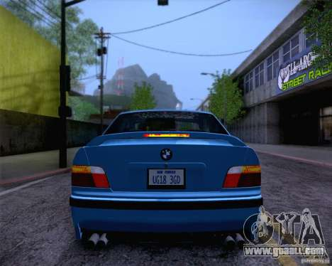 BMW M3 E36 1995 for GTA San Andreas interior