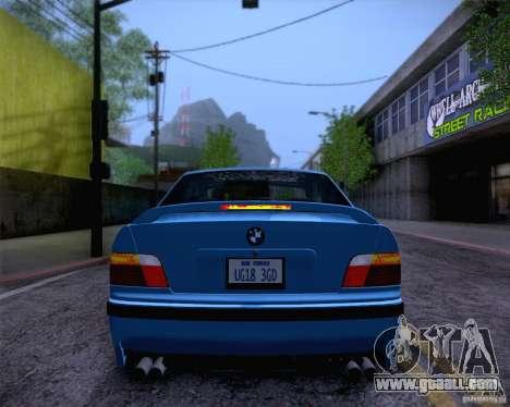 BMW M3 E36 1995 for GTA San Andreas interior