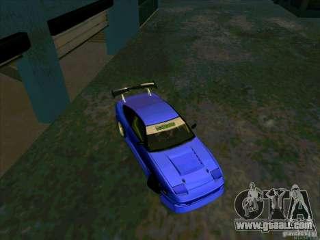 Nissan 240SX Drift Team for GTA San Andreas right view