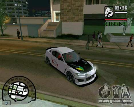 Mazda RX8 JDM Style for GTA San Andreas