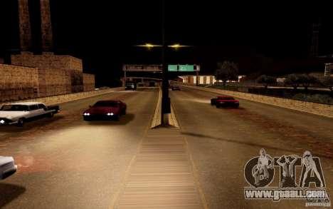 A new algorithm for car traffic for GTA San Andreas fifth screenshot
