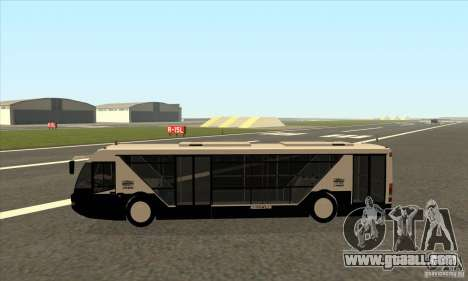 Neoplan Airport bus SA for GTA San Andreas left view