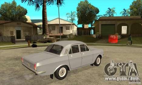 GAZ Volga 24 for GTA San Andreas right view