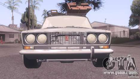 VAZ 2106 Tuning Rat Style for GTA San Andreas back left view