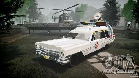 Cadillac Ghostbusters for GTA 4