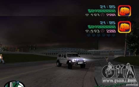 UAZ-3159 for GTA Vice City right view