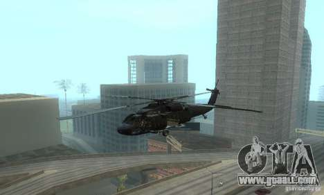 UH-60M Black Hawk for GTA San Andreas