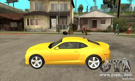 Chevrolet Camaro SS 2010 for GTA San Andreas left view