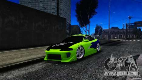 Mitsubishi Eclipse GSX FnF for GTA 4