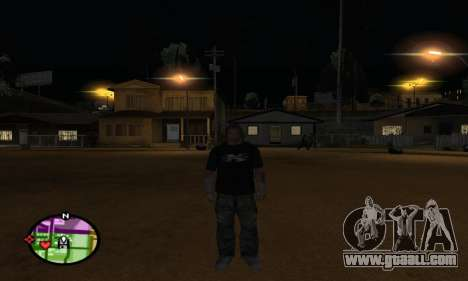 Triple H for GTA San Andreas fifth screenshot