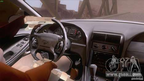 Ford Mustang GT 1999 for GTA San Andreas interior