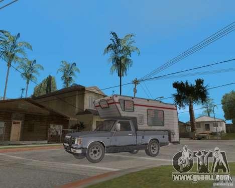 Chevrolet S-10 Kemper v2.0 for GTA San Andreas left view