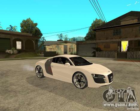 Audi R8 light tunable for GTA San Andreas right view