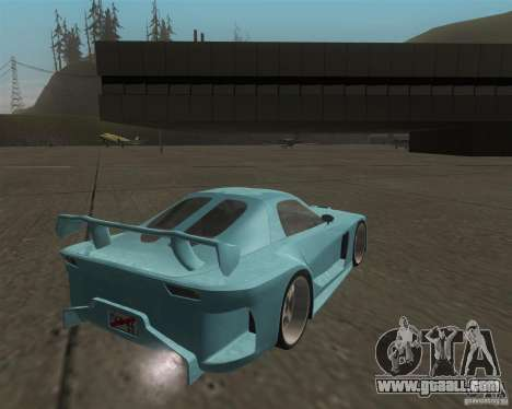 Mazda RX-7 Veilside Fortune for GTA San Andreas