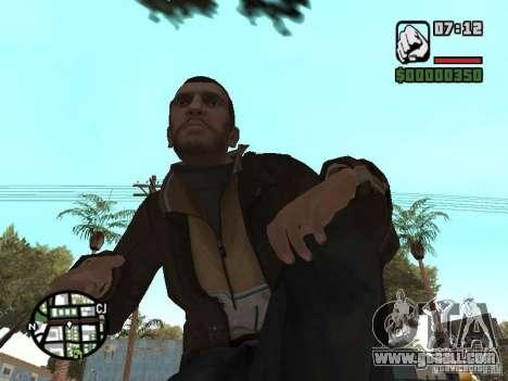 Niko Bellic for GTA San Andreas eleventh screenshot