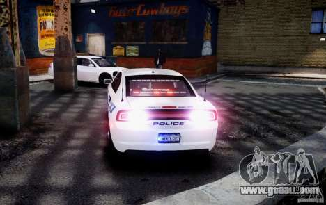 Dodge Charger 2012 Slicktop ELS for GTA 4 left view