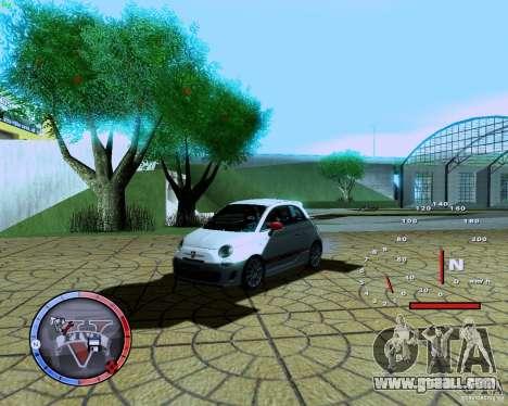 Fiat 500 Abarth for GTA San Andreas