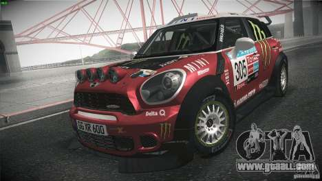 Mini Countryman WRC for GTA San Andreas