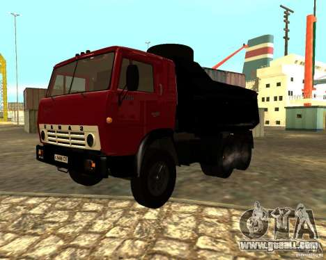 KAMAZ 55111 for GTA San Andreas