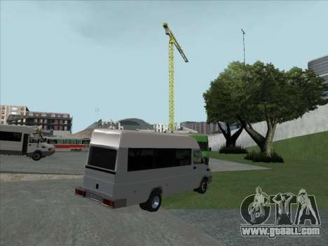 Iveco TurboDaily 35-10 for GTA San Andreas right view