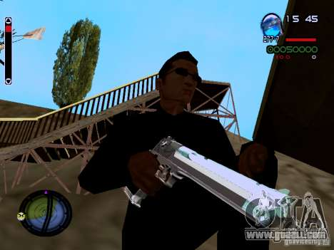 Ice Weapon Pack for GTA San Andreas tenth screenshot