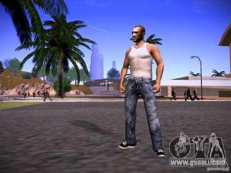 Niko Bellic Reload Beta 0.1 for GTA San Andreas second screenshot