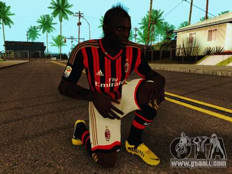 Mario Balotelli v1 for GTA San Andreas fifth screenshot