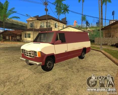 Transporter 1987 - GTA San Andreas Stories for GTA San Andreas