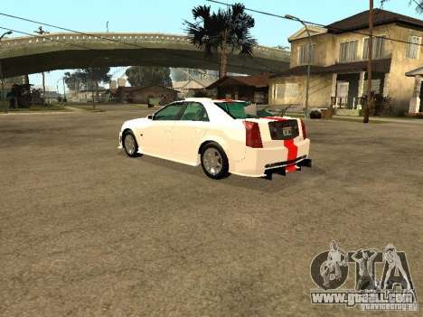 Cadillac CTS 2003 Tunable for GTA San Andreas bottom view
