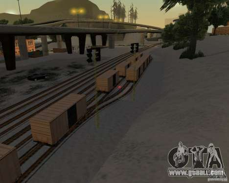 New railway station for GTA San Andreas third screenshot